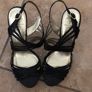 Black Adrianna Papell shoes